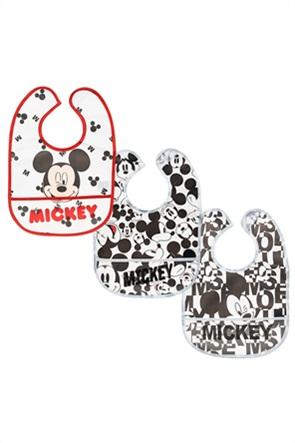 Alouette σετ σαλιάρες Disney Mickey Mouse (3 τεμάχια)