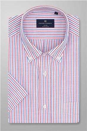 Oxford Company ανδρικό ριγέ πουκάμισο button down