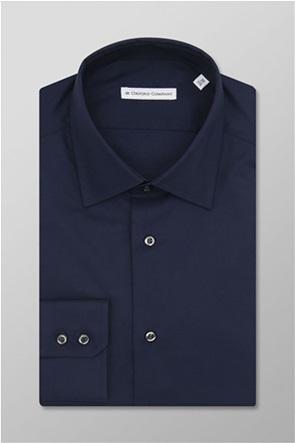 Oxford Company ανδρικό πουκάμισο μονόχρωμο Slim Fit ''City''