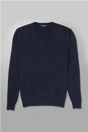 Oxford Company ανδρική πλεκτή μπλούζα με V λαιμόκοψη