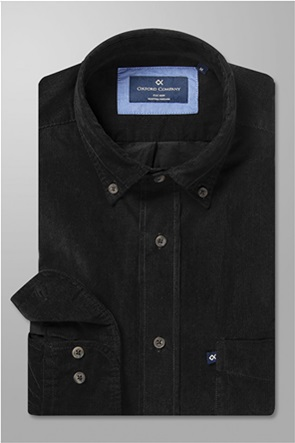 Oxford Company ανδρικό πουκάμισο κοτλέ με τσέπη στο στήθος Regular Fit