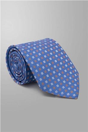 Oxford Company ανδρική μεταξωτή γραβάτα με μικροσχέδιο