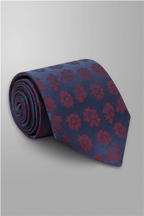 Oxford Company ανδρική μεταξωτή γραβάτα με floral print
