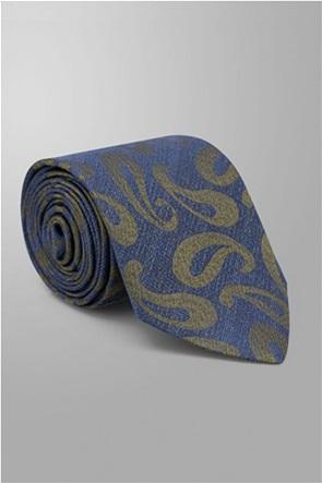 Oxford Company ανδρική μεταξωτή γραβάτα με all-over print