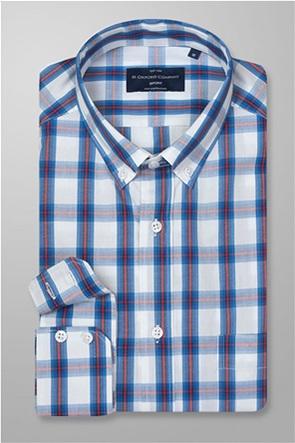 Oxford Company ανδρικό πουκάμισο καρό button down