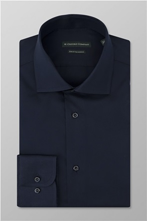 Oxford Company ανδρικό πουκάμισο μονόχρωμο Regular Fit