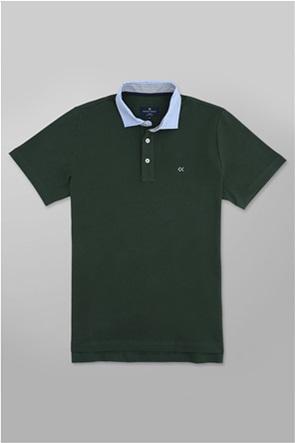 Oxford Company ανδρική πόλο μπλούζα με κεντημένο logo