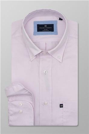 "Oxford Company ανδρικό πουκάμισο μονόχρωμο ""Sport"""