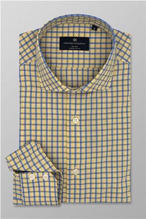 Oxford Company ανδρικό πουκάμισο καρό Slim Fit