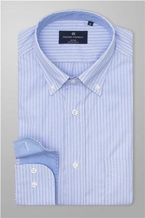 Oxford Company ανδρικό ριγέ πουκάμισο με τσέπη