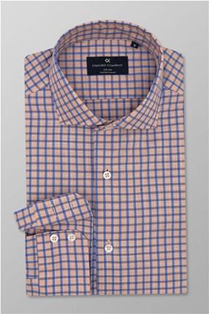 Oxford Company ανδρικό καρό πουκάμισο Slim Fit