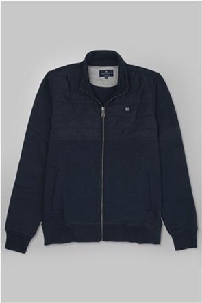 Oxford Company ανδρική ζακέτα φούτερ Regular Fit