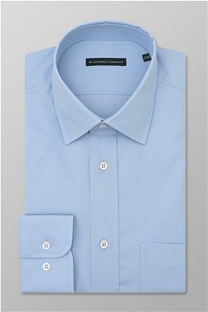 "Oxford Company ανδρικό πουκάμισο μονόχρωμο Regular Fit ""Classic"""