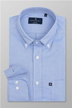 "Oxford Company ανδρικό πουκάμισο μονόχρωμο Button Down  ""Sport"""