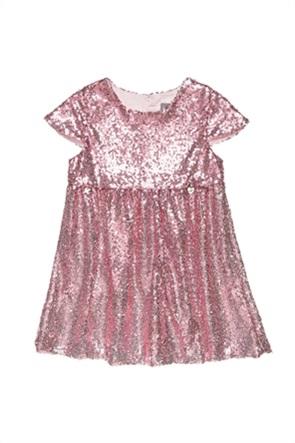 Alouette παιδικό φόρεμα κοντομάνικο με παγιέτες (2-5 ετών)