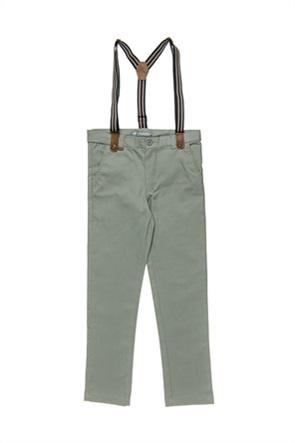 Alouette παιδικό παντελόνι με αποσπώμενες τιράντες (6-16 ετών)