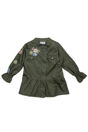 Alouette παιδικό jacket με floral κέντημα (2-5 ετών)