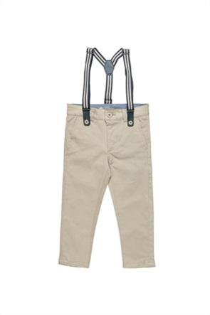 Alouette παιδικό παντελόνι με αποσπώμενες τιράντες (12 μηνών-5 ετών)