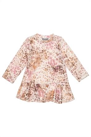 Alouette παιδικό φόρεμα με leopard print (2-5 ετών)