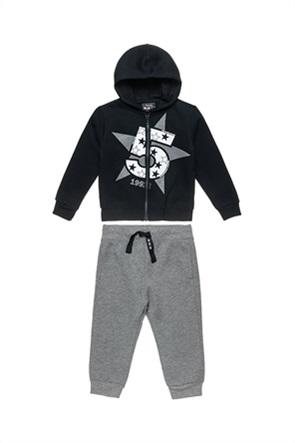 Alouette παιδικό σετ ρούχων με ζακέτα με κουκούλα και παντελόνι (12 μηνών-5 ετών)
