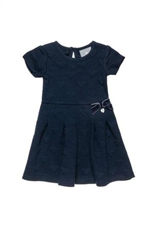 Alouette παιδικό φόρεμα με ανάγλυγες καρδιές (18 μηνών-5 ετών)