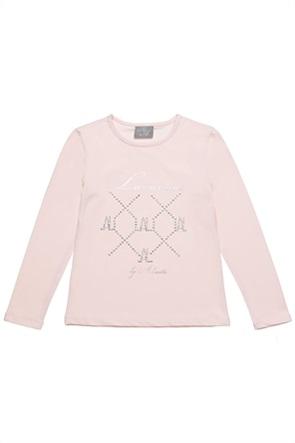 Alouette παιδική μπλούζα με letter print (6-16 ετών)