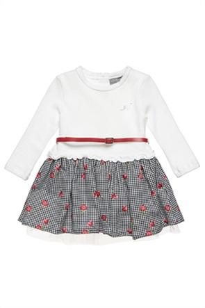 Alouette παιδικό φόρεμα με floral print και ζωνάκι (2-5 ετών)
