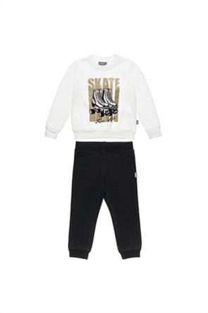 "Alouette παιδικό σετ φόρμας μπλούζα με glitter και παντελόνι ""Five Star "" (12 μηνών-5 ετών)"
