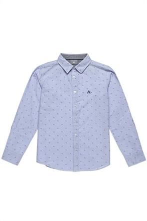 Alouette παιδικό πουκάμισο με μικροσχέδιο (6-16 ετών)