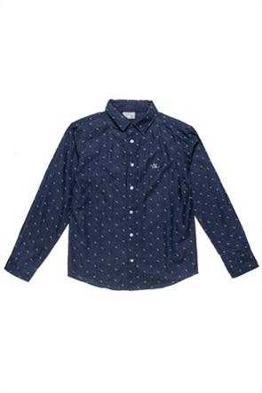 Alouette παιδικό πουκάμισο με μικροσχέδιο (6-14 ετών)