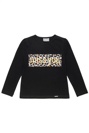 Alouette παιδική μπλούζα με animal print (6-16 ετών)