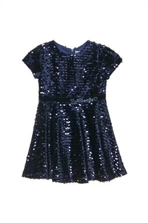Alouette παιδικό φόρεμα με all-over παγιέτα (2-5 ετών)