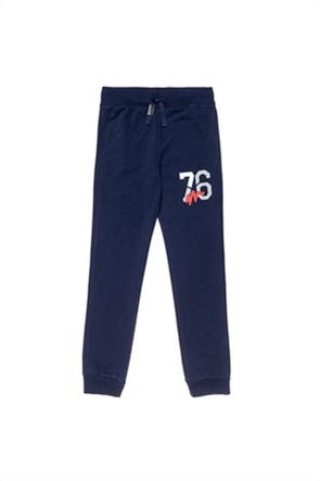 "Alouette παιδικό παντελόνι φόρμας με number print ""Moovers"" (6-16 ετών)"