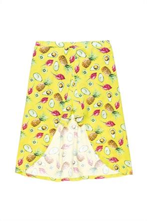Alouette παιδική φούστα με ενσωματομένο σορτς με all-over print (6-14 ετών)