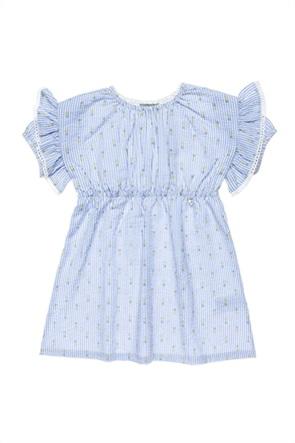 Alouette παιδικό φόρεμα ριγέ με all-over pineapple print (6-12 ετών)