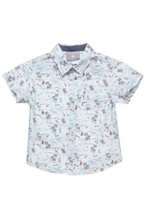 Alouette παιδικό πουκάμισο με all-over print (2-5 ετών)