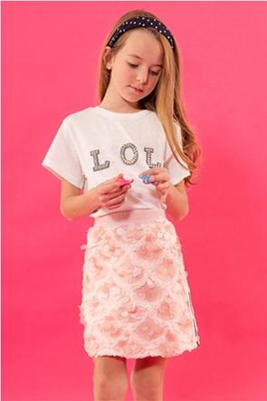 Alouette παιδική φούστα με παγιέτες (6-12 ετών)