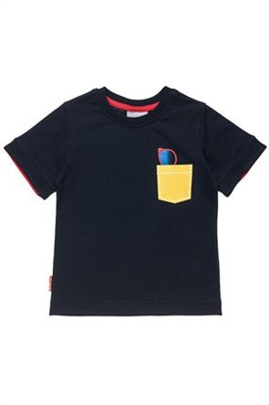 Alouette παιδικό T-shirt με print στο στήθος (2-5 ετών)