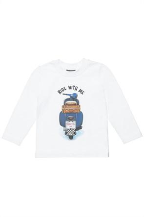 "Alouette παιδική μπλούζα με print ""Ride with me"" (12 μηνών- 5 ετών)"