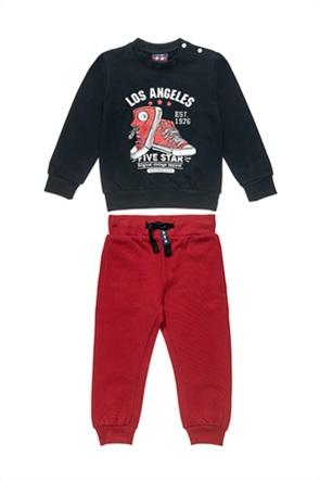 """Alouette παιδικό σετ φόρμας μπλούζα με print """"Los Angeles"""" και παντελόνι (12 μηνών-5 ετών)"""