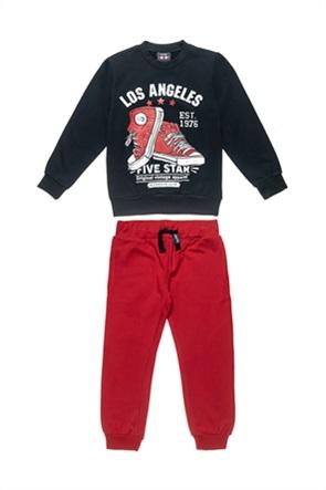 """Alouette παιδικό σετ φόρμας μπλούζα με print """"Los Angeles"""" και παντελόνι (6-16 ετών)"""