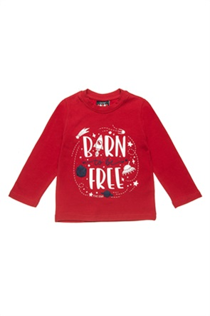 "Alouette βρεφική μπλούζα με graphic print ""Five Star"" (12 μηνών - 5 ετών)"