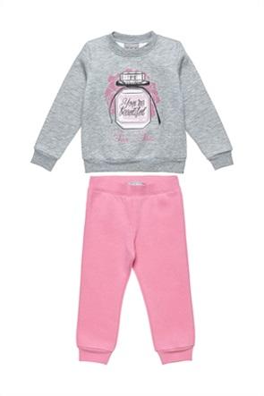 "Alouette παιδικό σετ φόρμας μπλούζα με print ""You're beautiful"" και παντελόνι (18 μηνών-5 ετών)"