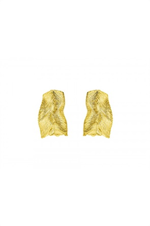 Li - LA - LO γυναικεία σκουλαρίκια από επιχρυσωμένο Ασήμι 925º