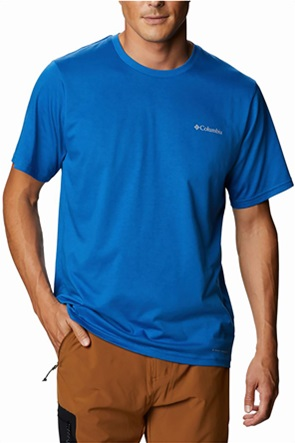 Columbia ανδρικό Τ-shirt μονόχρωμο με logo print ''Sun Trek™''