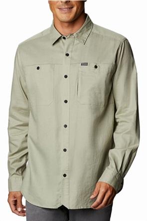 Columbia ανδρικό πουκάμισο μονόχρωμο με απλικέ τσέπες ''Clarkwall™ Organic Cotton Ripstop''