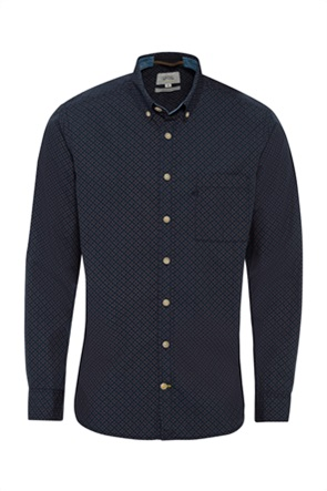 Camel Active ανδρικό πουκάμισο button-down με καρό σχέδιο