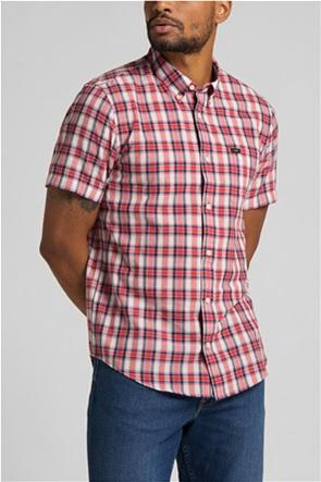 Lee ανδρικό καρό πουκάμισο με τσέπη στο στήθος
