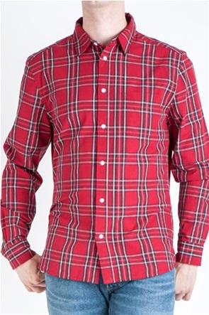 Wrangler ανδρικό καρό πουκάμισο με μία τσέπη Regular fit