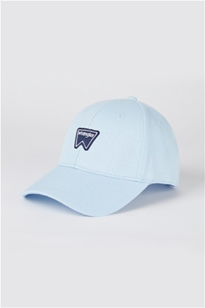 Wrangler unisex καπέλο jockey με κεντημένο λογότυπο